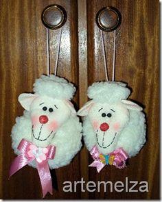 artemelza - ovelha de fuxico