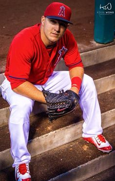 Angels Baseball Team, Hot Baseball Players, Mlb Players, Usa Sports, Sports Stars, Better Baseball, Mike Trout, Sport Inspiration, American League