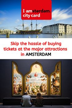 I amsterdam City Card: free entry to museums, transport & Amsterdam What To Do, Amsterdam City Guide, Amsterdam Holland, Amsterdam Travel, Hermitage Amsterdam, Anne Frank House, Van Gogh Museum, Free Entry