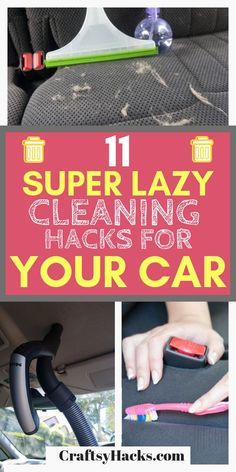 Try these lazy girl cleaning hacks at home and keep your home clean just like th. , Try these lazy girl cleaning hacks at home and keep your home clean just like that. These cleaning tips are simple yet super useful. Car Cleaning Hacks, Deep Cleaning Tips, House Cleaning Tips, Diy Cleaning Products, Clean Car Lights, Clean Your Car, Clean House, Lazy Girl, Super Easy