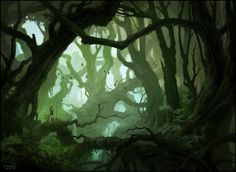 Deep In The Woods II by andreasrocha on DeviantArt