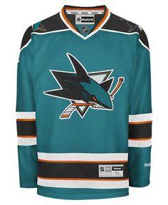 82bc63b91 Reebok Men s San Jose Sharks Premier Jersey Hockey Outfits