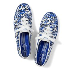 Keds Champion Floral Sneakers, $45
