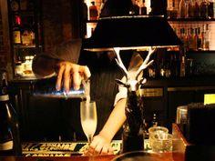 Loving the Herschel Vine cocktail at Seven Grand in downtown LA @213nightlife
