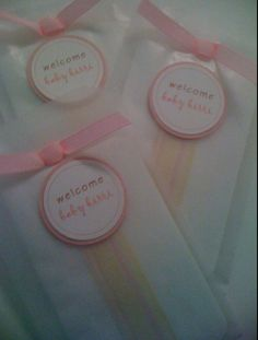 Baby shower game prizes - with custom covers by Ashley Kate Designs.