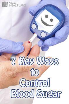 7 Key Ways  to  Control  Blood Sugar