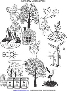 Reduce, Reuse, Recycle Earth Day Stickers http://www