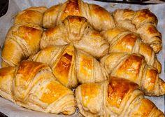 Croissants, Bread, Baking, Food, Basket, Crescents, Brot, Bakken, Essen