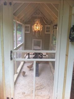 The Hilton Henhouse. Fancy chicken coop for my fancy chickens?