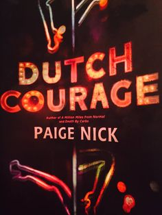 Tabatha McDonald King  You had me laughing and squirming all the way through. Bravo my friend Paige Nick #DutchCourage