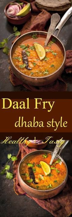 Spicy and flavourful -really authentic indian dhaba style daal. Packed with nutrition, delicious and healthy.