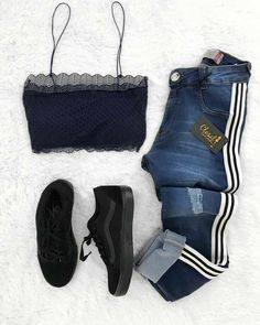 Cute Teen Outfits, Teenager Outfits, Outfits For Teens, Trendy Outfits, Cool Outfits, Girls Fashion Clothes, Teen Fashion, Fashion Outfits, Womens Fashion
