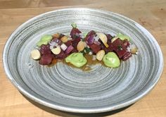 Poke has taken Seattle by storm and Chan makes a damned fine rendition. Check out Chef Park's recipe here where simplicity and quality reign supreme! Ahi Tuna Poke, Poke Recipe, Food Park, Supreme, Korean, Fruit, Recipes, Style, Swag
