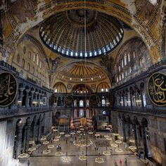 One of my favorite buildings in the world is the Hagia Sophia in Istanbul Turkey.  The reasons why it is such a great building are several fold.  First it is really old. It was build between 532-537 by the Byzantine Emperor Justinian I. This is a full 600 years before construction was started on Notre Dame in Paris and 800 years before it was opened. There really isnt anything of this size and age anywhere in the world.  The other amazing fact is that even though it is much older than most…