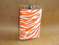 "Those that understand this: It is an ""Orange Responsibility Zebra"" flask!  Perfection!"
