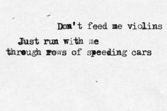 """""""Speeding Cars"""" by Imogen Heap"""