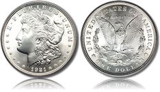 The Morgan Dollar is one of the most popular silver coins.
