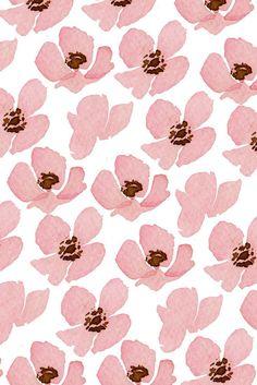 Texturas Y❤B <> Floral Patterns Maggie Humphrey Pretty Patterns, Shape Patterns, Flower Patterns, Flower Pattern Design, Pattern Designs, Pink Patterns, Graphic Patterns, Boho Pattern