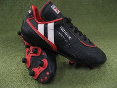 Football Boots We Have Loved: Patrick Juventus Soccer Boots, Soccer Cleats, Football Kits, Retro Sneakers, Soccer Shirts, Nudes, Childhood Memories, Black Boots, Trainers