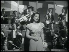 """You Made Me Love You"" - Harry James / Helen Forrest from the movie ""Private Buckaroo"" 1942 1940s Music, Old Music, Jazz Music, Glenn Miller, Harry James, Only Play, Easy Listening, Types Of Music, Popular Music"