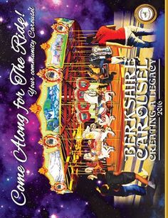 Other Publications: Berkshire Carousel Calendar 2016, $12.00 from MagCloud