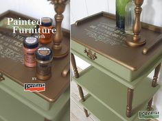 Painted Furniture, Furniture Design, Furniture Makeover, Entryway Tables, Diy Home Decor, The Originals, Metal, Handmade, Painting