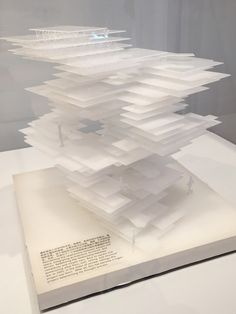 What if modern architecture could do it all over again? Sao Fujimoto, model for Primitive Future House, 2001