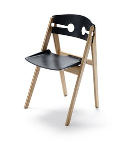 """Dining Chair no. 1 by """"We Do Wood"""" - sustainable design made from bamboo wood."""
