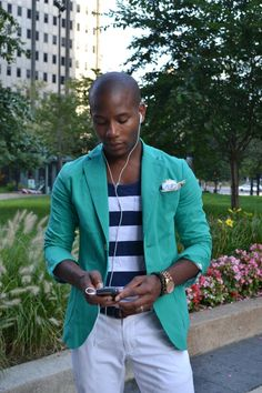 A Gap tank top as featured on the blog Men's Style Pro by Sabir M. Peele.