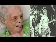 102 y/o Dancer Sees Herself on Film for the First Time//
