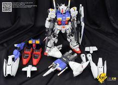 GUNDAM GUY: PG 1/60 Gundam GP01/Fb - Customized Build