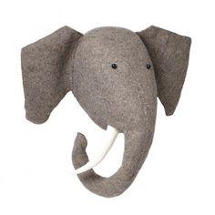 Fiona Walker England Elephant Head Wall Decor for Kids