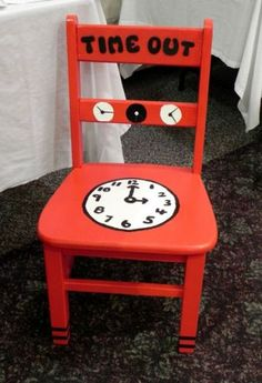 Iu0027m in permanent time out from raising children now its time to save & Time out chair! Has a kitchen timer attached on the back! | My ... islam-shia.org