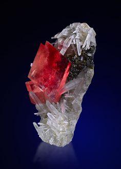 Rhodochrosite and Quartz - Sweet Home Mine, Mount Bross, Alma District, Park Co., Colorado