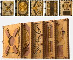 Projektant przemysłowy Brady Whitney stworzył publikację, która łączy w sobie formę i treść książki ze skomplikowanymi łamigłówkami. Aby poznać
