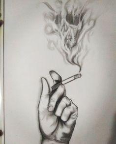Hand art images – diy tattoo image - Sites new Sad Drawings, Dark Art Drawings, Pencil Art Drawings, Art Drawings Sketches, Pencil Sketch Art, Abstract Drawings, Hand Kunst, Desenhos Halloween, Meaningful Drawings