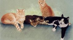 Pet Sympathy Cards & Artwork for the Loss of a Pet