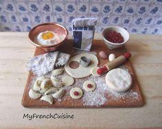 Italian agnolotti  preparation board  Handmade by MyFrenchCuisine, $40.00