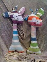Hračky - Žirafa, čo kuká iba doprava - 1870570