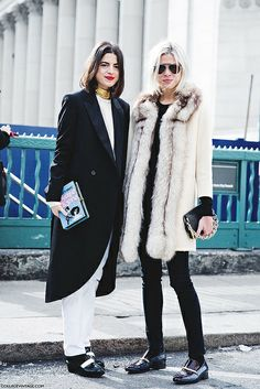 New_York_Fashion_Week-Street_Style-Fall_Winter-2015-Leandra_Medine-Man_Repeller-Emily_Weiss-2 by collagevintageblog, via Flickr