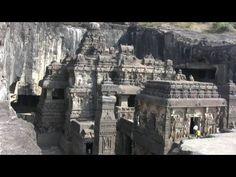 The Rock-cut Caves of Ellora and Ajanta, Maharashtra, India (in HD) (+pl...