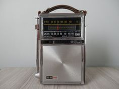 Vintage General Electric AM/FM Portable by WesternKyRustic on Etsy