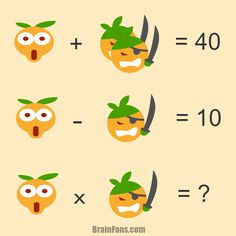 Brain teaser - Number And Math Puzzle - math question - There are shocked smiley and pirate smiley, both represent a number. Can you find those numbers?