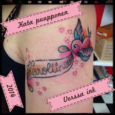 https://www.facebook.com/VorssaInk, http://tattoosbykata.blogspot.fi, #tattoo #tatuointi #katapuupponen #vorssaink #forssa #finland #traditionaltattoo #suomi #oldschool #swallow #sparrow
