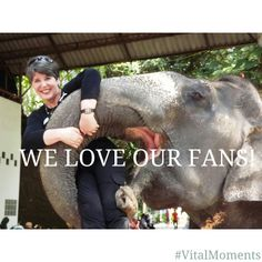 It's official, we have THE best fans out there. They wrestle elephants for crying out loud! http://www.serovital.com/