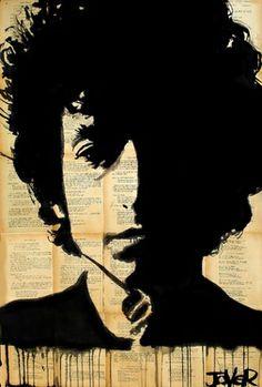 "Saatchi Online Artist Loui Jover; Drawing, ""bob"" #art"