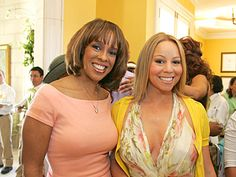 The Young'uns-Editor at large of O, The Oprah Magazine, Gayle King, and singer Mariah Carey.