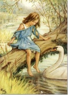 Cicely Mary Barker, The Lord of the Rushie River, She Told Her Difficulty to Good Madam Pen