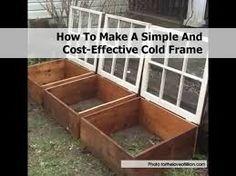 Billedresultat for cold frame