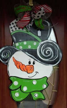 Snowman By Nana's Crafty Creations
